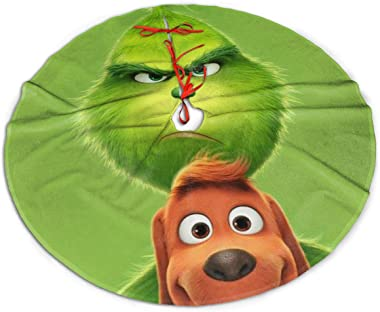Dazhenfzd How The Grinch Stole Christmas Christmas Tree Skirt Christmas Ornaments Home Decor Party Decorations
