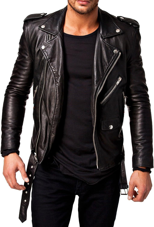 Best Seller Leather Men's Leather Jacket XS Black