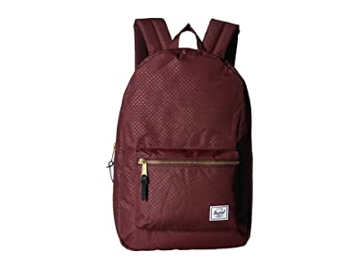 Herschel Supply Co. Settlement (Plum Dot Check) Backpack Bags