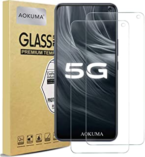 AOKUMA Vivo Y50 ガラスフィルム【2枚セット】強化ガラスフィルム 液晶保護ガラスフィルム 超薄0.33mm 硬度9H 飛散防止 高透過率 指紋防止 気泡なし 自動吸着