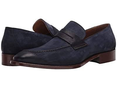 J&M Collection Cormac Penny (Navy) Men