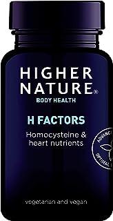 Higher Nature H Factors - Homocysteine & Heart Nutrients - 180 Vegicaps