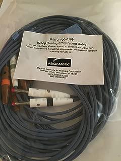 3861666 Midmark IQecg Patient Cable Ea Midmark Corporation -3-100-0199