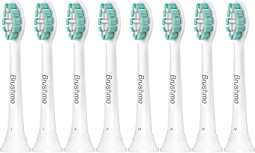 Sonimart Brushmo Replacement Toothbrush Heads Compatible with Phillips Sonicare Electric Toothbrush, 8 Pack