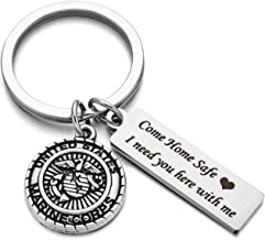 Fathers Day Gifts Drive Safe Charms Keychain Come Home Safe I Need You Here With Me Dad Husband Boyfriend Gift