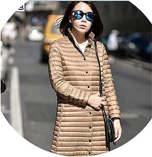 Long 95% White Duck Down Jacket Women Down Coat Women's Down Jacket Outerwear