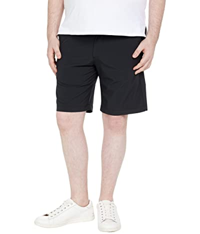Johnston & Murphy XC4 Performance Heather Shorts (Black) Men