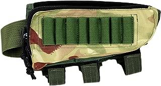 Tactical Sharpshooter Hunter Buttstock Pack | Cheek Pad Rest | Ammo Holder