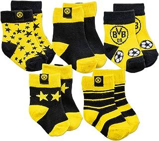 Borussia Dortmund BVB-Kleinkindersocken 5er-Pack