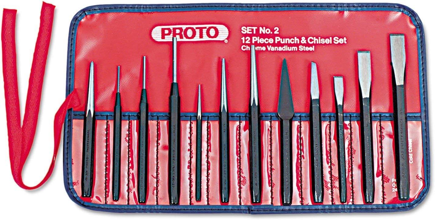 Punch Chisel Bargain Set 55% OFF 12 Piece