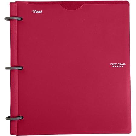 Black Flex Hybrid NoteBinder Notebook and Binder All-in-One, 1-1//2 Inch Binder