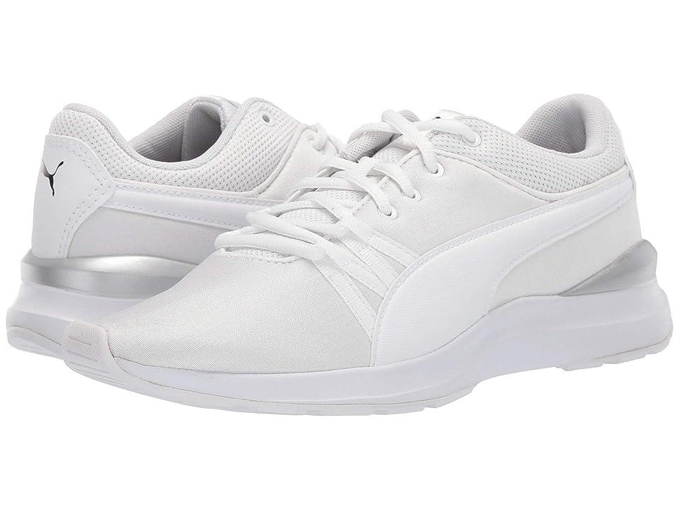 537f73b3d0e9 PUMA Adela (Puma White Puma White) Women s Shoes