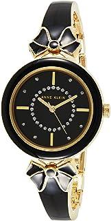 Anne Klein womens black strap watch - AK3298BKGB