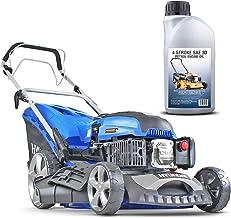 Hyundai 46cm Self-Propelled Petrol Lawnmower, 460mm / 18'' Cutting Width, 3.5HP 4-Stroke Petrol Engine, Foldable Handles, ...