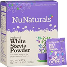 Best nunaturals white stevia powder packets Reviews