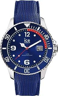 Ice-Watch Ice Steel Montre pour Homme avec Bracelet en Silicone