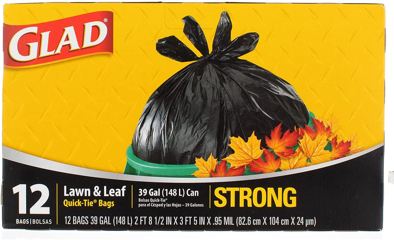 More buying choices for Glad 39 Quick Leaf 25% Outlet ☆ Free Shipping OFF Lawn Gallon Tie Bag