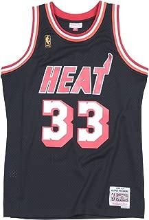 Mitchell & Ness Alonzo Mourning Miami Heat NBA Swingman HWC Jersey - Black