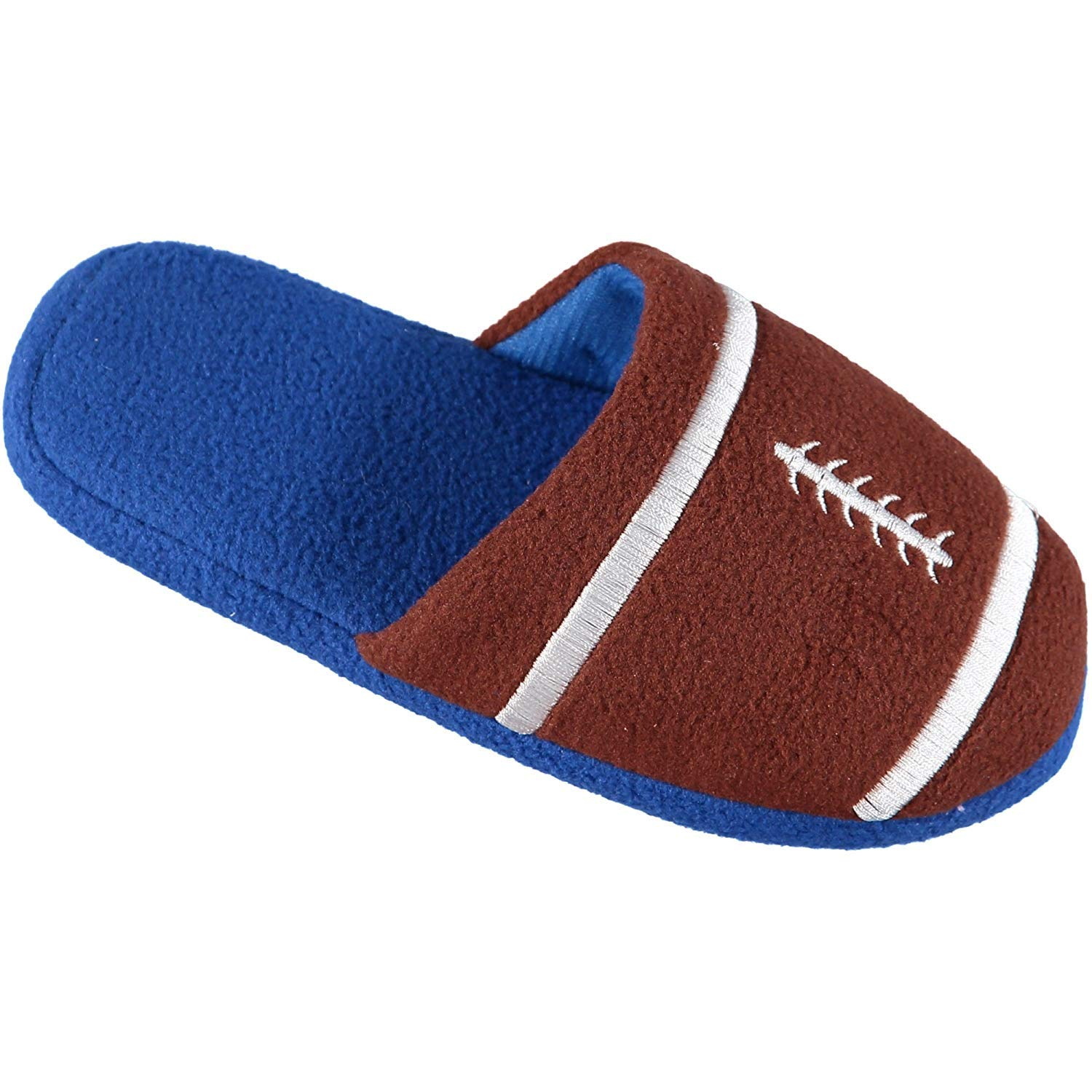 Image of Blue Boys Football Slippers