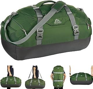 c6751de112 AIONE Duffel Backpack Bag 4-Way Sports Gym Backpack 45L 55L 65L Travel