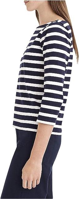 Icon Stripe Navy/Ivory