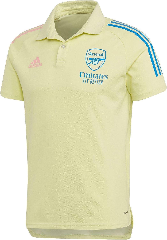 Amazon.com : adidas 2020-2021 Arsenal Polo Football Soccer T-Shirt ...
