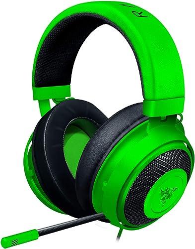 Razer Kraken Gaming Headset: Lightweight Aluminum Frame - Retractable Noise Isolating Microphone - For PC, PS4, Ninte...