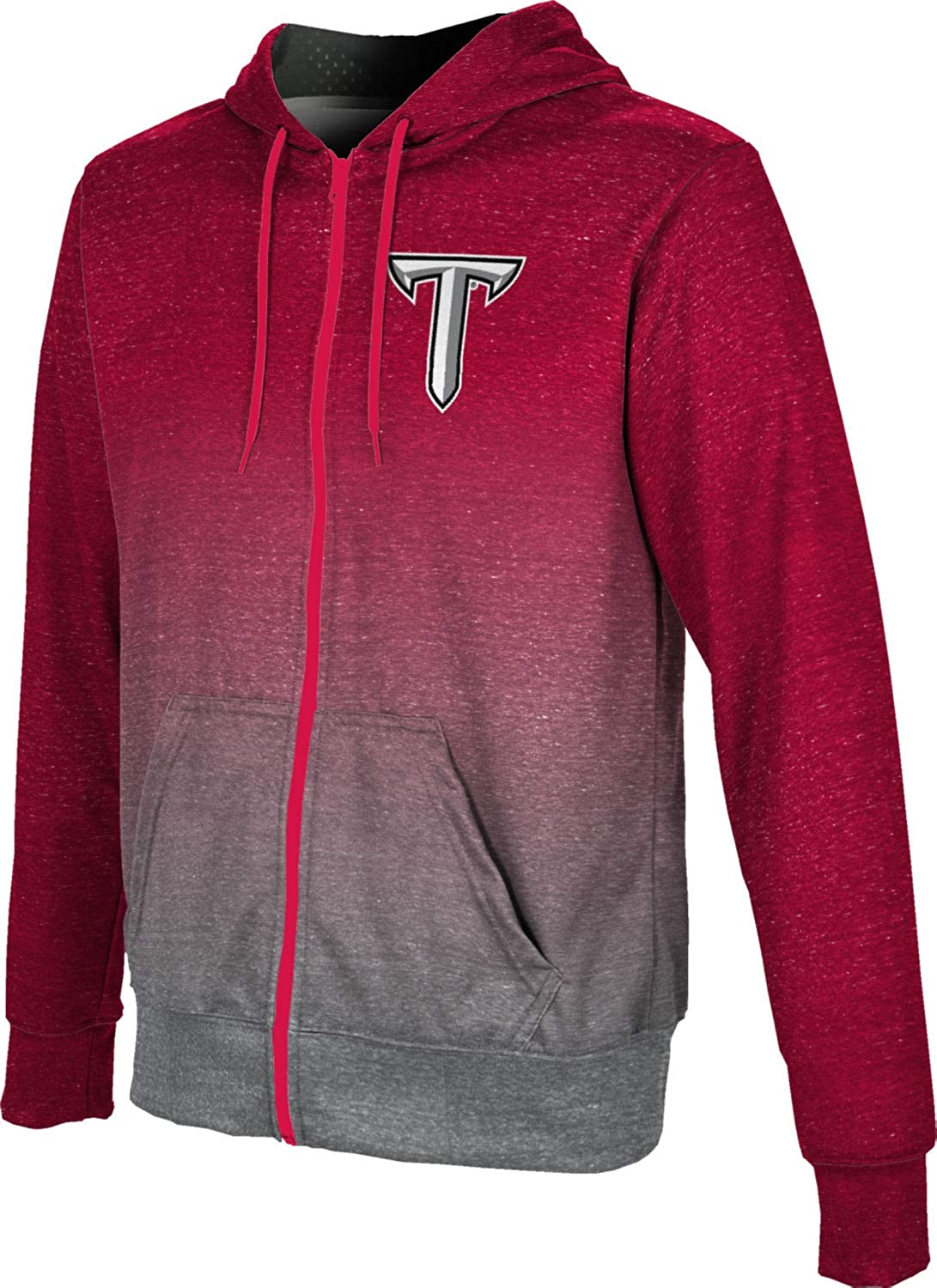 ProSphere Troy University Boys' Zipper Swe Spirit shopping Hoodie Limited time for free shipping School