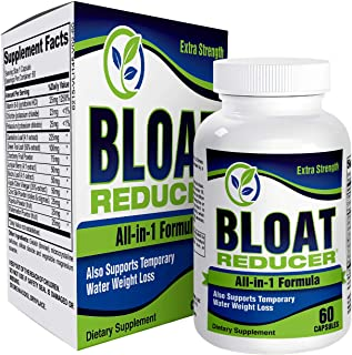 All-in-1 Bloat Reducer Cleanse Support Supplement - Bloating Relief Pills/Supplements
