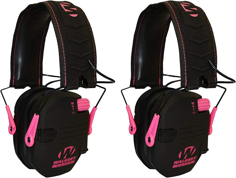 Walker's Popular Tampa Mall overseas Razor Hearing Protection Pink Earm Slim Folding Shooter