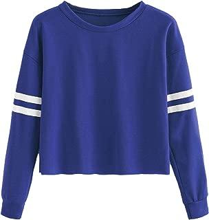 royal blue cropped hoodie