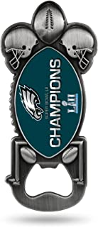 Rico Industries NFL Philadelphia Eagles Super Bowl LII Champs Party Starter Magnetic Bottle Opener