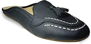 saanvishubh Latest & Comfortable Casual Slip-on for Girls and Womens - Black