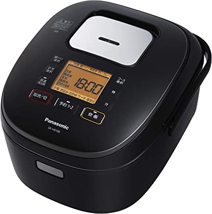 パナソニック 5.5合 炊飯器 IH式 ブラック SR-HB108-K