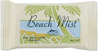 Beach Mist BCH NO1.5 BHMNO15A Face and Body Soap, Foil Wrapped, Fragrance, 1.5 oz. Bar (Pack of 500)