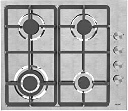 Gas Cooktop, KUPPET 20x23 inches Built in Gas Cooktop, 4 Burners Gas Stove Cooktop, Stainless Steel Cooktop Gas Hob, ETL Safety Certified, Thermocouple Protection…