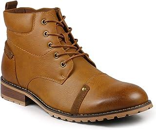 Metrocharm MC152 Men's Lace Up Cap Toe Casual Oxford Boot