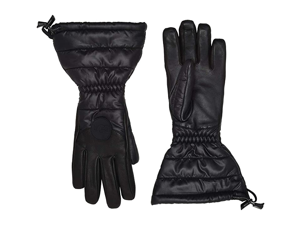 UGG Water Resistant Performance Tech Gloves (Black) Extreme Cold Weather Gloves