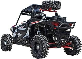 SuperATV Spare Tire Carrier for Polaris RZR XP 1000 / XP 4 1000 - Wrinkle Black