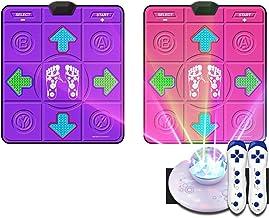 Antislip Somatosensorische Dance Machine Yoga Elektronische Dance Play Mat, Dance Mat Pad Pads (Color : E)