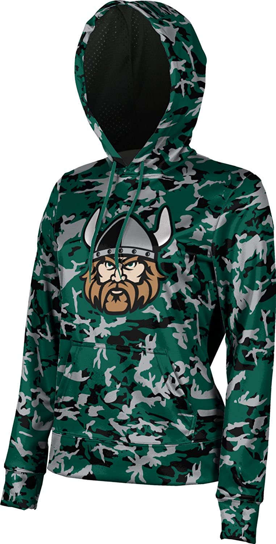 ProSphere Cleveland State University Girls' Pullover Hoodie, School Spirit Sweatshirt (Camo)