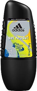 adidas get ready Deo Roll-On dla mężczyzn, 6 sztuk (6 x 50 ml)