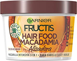 Fructis Mascarilla Intensiva 3 in 1 para Cabello Seco y Rebelde con Macadamia - 390 ml