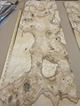 Olive Ash Burl wood veneer 14