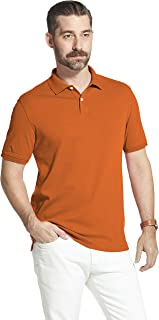 Arrow Men's Big and Tall Cool Cotton Short Sleeve Heather Polo Shirt