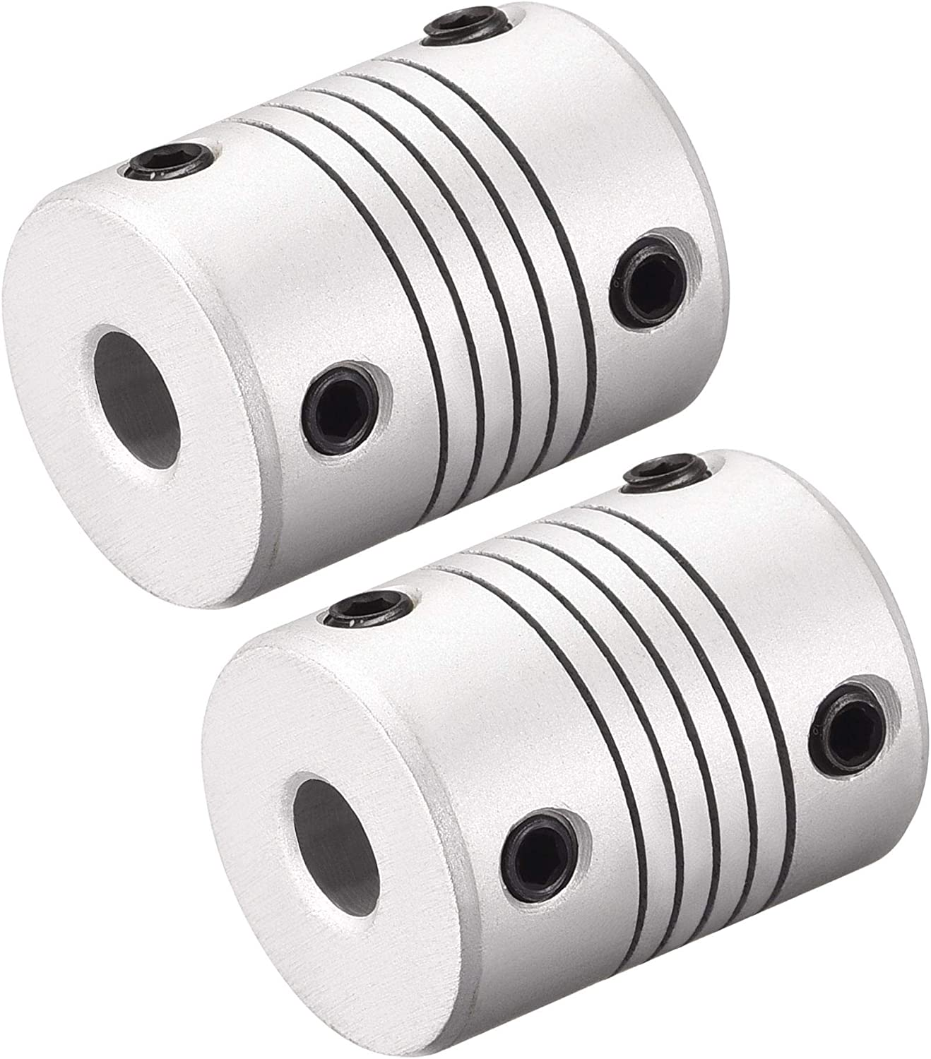 uxcell 8mm to 9mm San Diego 100% quality warranty! Mall Aluminum Coupler Flexible Alloy Coupling Shaft