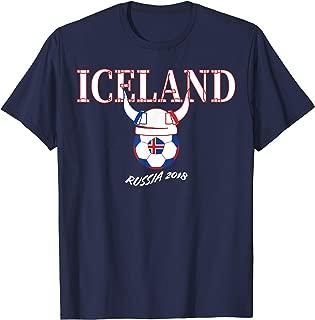 Iceland Soccer Jersey Icelandic Viking Football T-Shirt