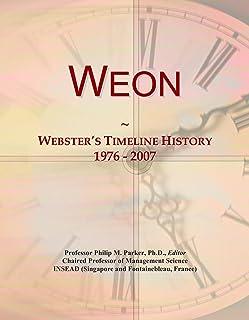 Weon: Webster's Timeline History, 1976 - 2007