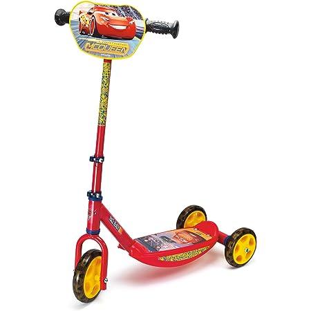Smoby The Movie Patinete con 3 Ruedas, diseño Cars 3 (Simba Toys 750154)