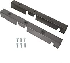 ECOTRIC Center Skid Plates Repair Sections Frame RH LH for Jeep Wrangler YJ Driver and Passenger 1987-1995